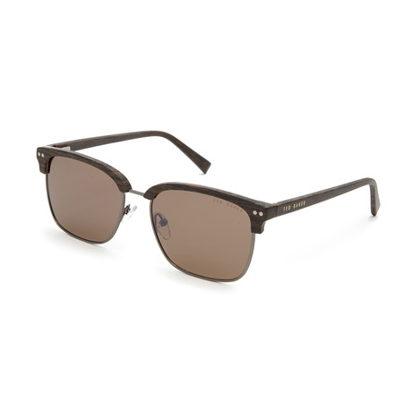 Men's Grant Club Polarized Sunglasses // Brown