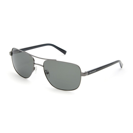 Men's Jordan Navigator Polarized Sunglasses // Dark Gunmetal