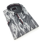 Michael Button-Up Shirt // Gray (M)