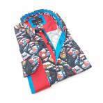 Ronald Button-Up Shirt // Multicolor (S)