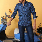 Patrick Button-Up Shirt // Blue (M)