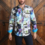 Dylan Button-Up Shirt // Multicolor (S)
