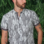 Michael Button-Up Shirt // Gray (2XL)
