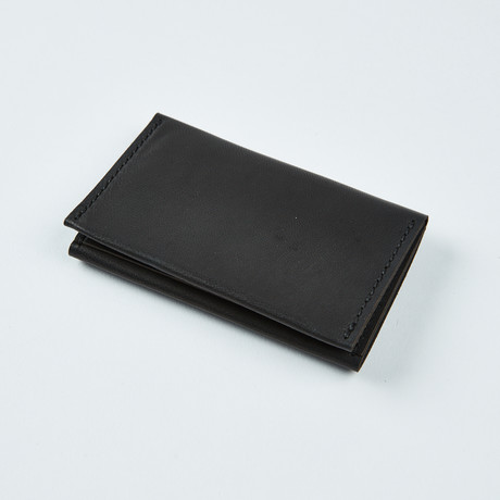 Wrap Wallet // Jet Black
