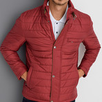 Simon Coat // Burgundy (XX-Large)
