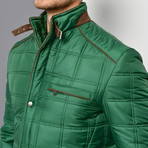 Jenson Coat // Green (Medium)