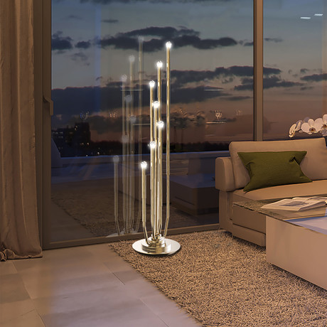 Tibis Floor Lamp (Gold)