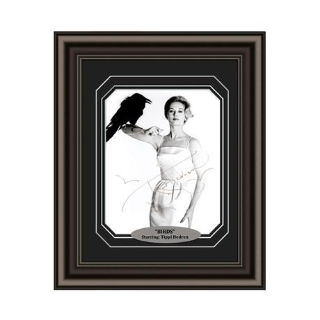 "Tippi Hedren // Signed Custom Framed ""The Birds"" Photo"