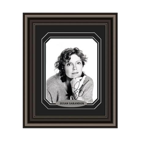 Susan Sarandon // Signed Custom Framed Photo
