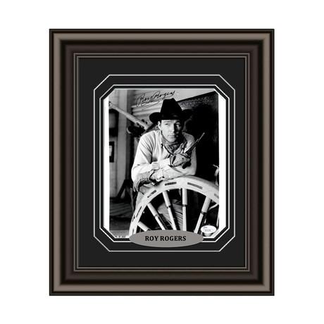 Roy Rogers // Signed Custom Framed Photo