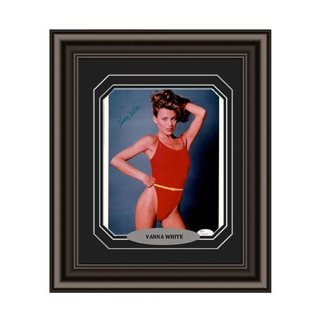 Vanna White // Signed Custom Framed Photo