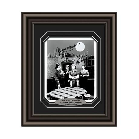 The Honeymooners // Cast Signed Custom Framed Photo