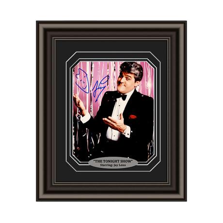Jay Leno // Signed Custom Framed Photo