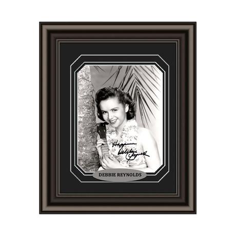 Debbie Reynolds // Signed Custom Framed Photo