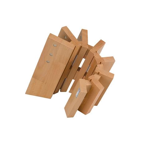 Pisa // Magnetic Knife Block // Beech