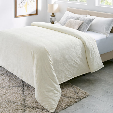 Royale Quilted Weighted Comforter (Queen)