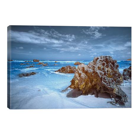 "Stones - Bahia, Brazil // Glauco Meneghelli (18""W x 12""H x 0.75""D)"