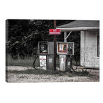 """Abandoned Gas Pumps // Pixy Paper (18""""W x 12""""H x 0.75""""D)"""
