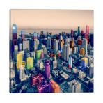 """Chicago City Pop // Unknown Artist (12""""W x 12""""H x 0.75""""D)"""
