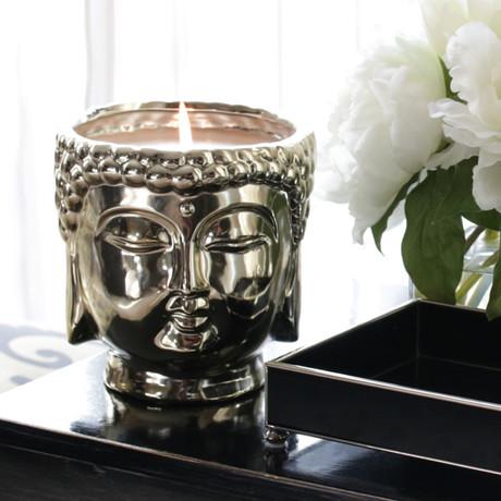 Silver Buddha // Midnight Orchid