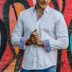 Lewis Button-Up Shirt // White (L)