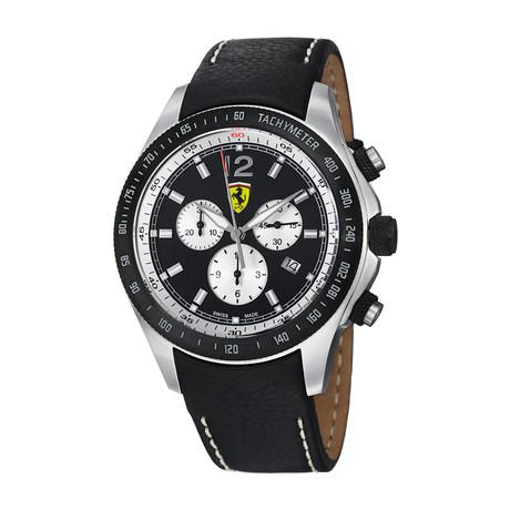 Ferrari Chronograph Quartz // FE07ACIPCPBK // Store Display