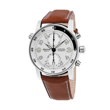 Alpina Chronograph Automatic // AL725LWW4R16BRN // Store Display