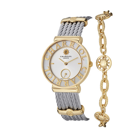 Charriol Ladies Quartz // ST30YC560012 // Store Display