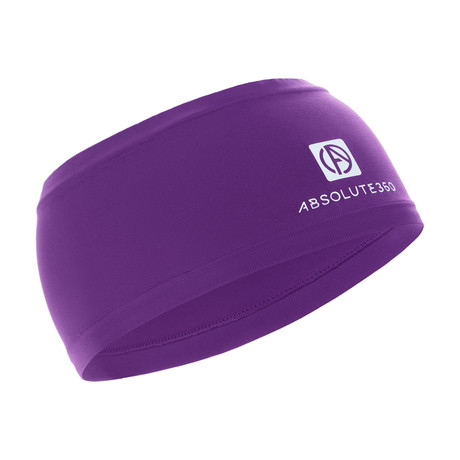 Infrared [AR] Wide Headband // Imperial Purple