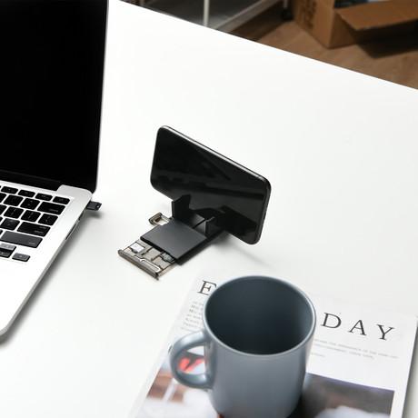 Multi Purpose Simcards Holder + Smartphone Stand