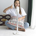 Ledetech Stylish Aluminum Cell Phone Stand (White)