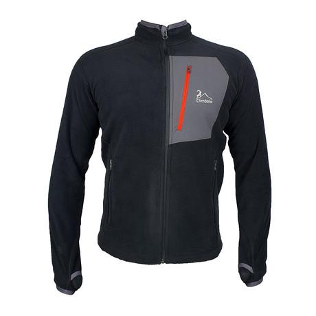 Polar Jacket // Black + Gray (XS)