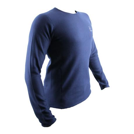 Balkan Long Sleeve // Navy Blue (XS)