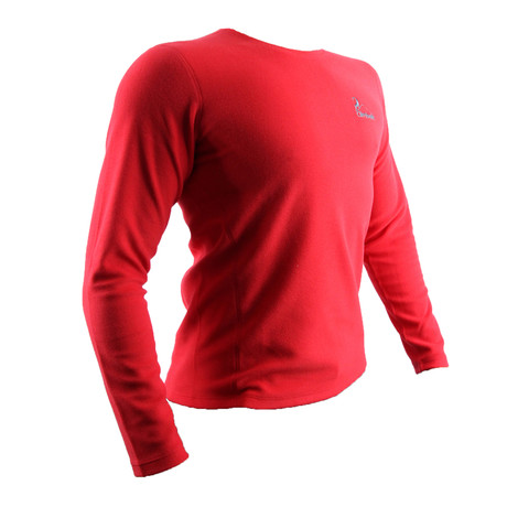 Ridge Long Sleeve // Red (XS)