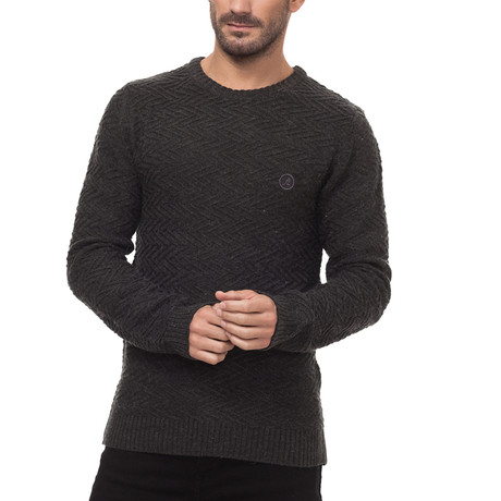 Crawford Sweater // Charcoal (Small)