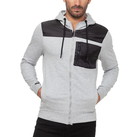 Nevis Hoodie // Gray Marl (Small)