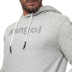 Digby Hoodie // Gray Striped Marl (Small)