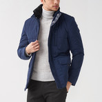Brandon Coat // Dark Blue (Euro: 56)