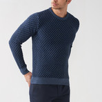 Chance Tricot Sweater // Indigo (S)