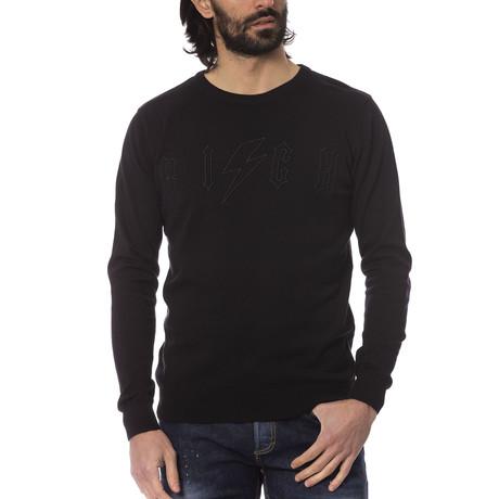 Simone Crewneck Sweater // Black (S)