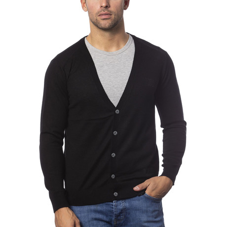 Marcell Cardigan // Black (S)