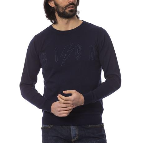 Simone Crewneck Sweater // Peacoat (S)