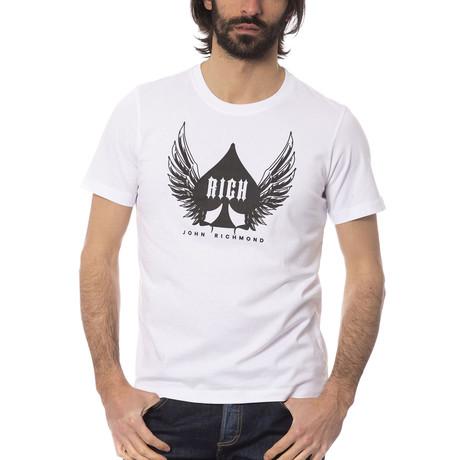 Flying Ace T-Shirt // Optical White (S)