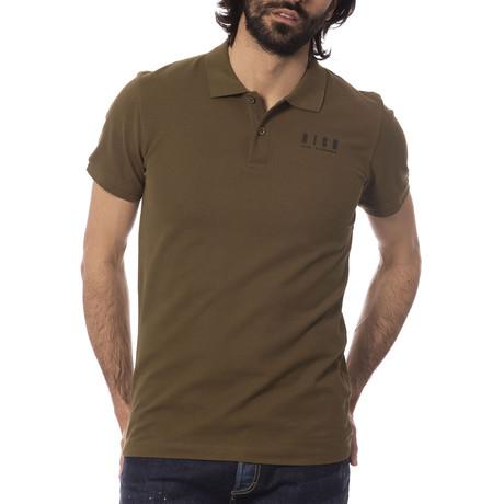 Fabio Polo Shirt // Military Green (S)