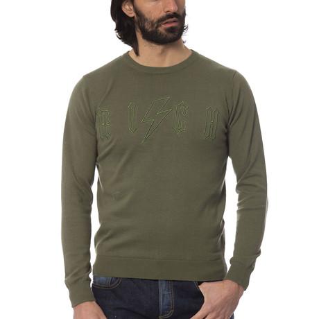 Simone Crewneck Sweater // Aloe (S)