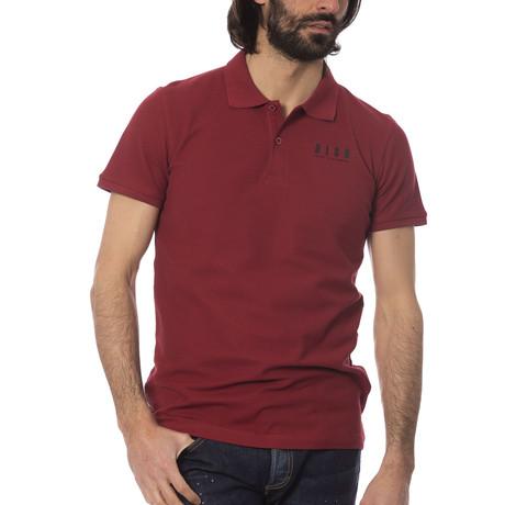 Fabio Polo Shirt // Bordeaux (S)