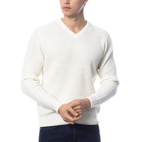Brando Sweater // Off White (S)