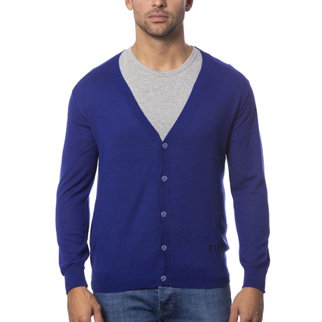 Marcell Cardigan // Royal Blue (S)