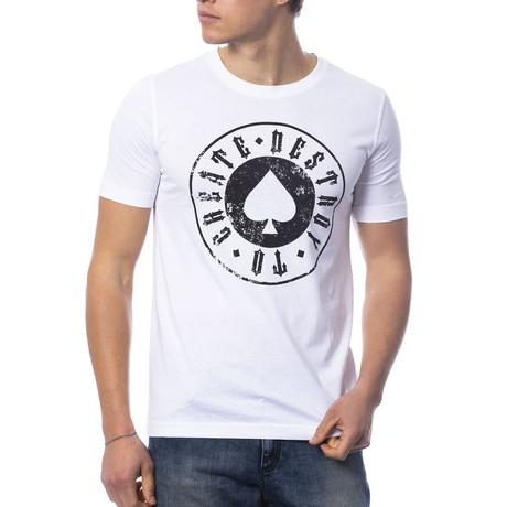 Respectable T-Shirt // White + Black (S)