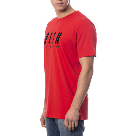 Over Ragdoll T-Shirt // Red (S)